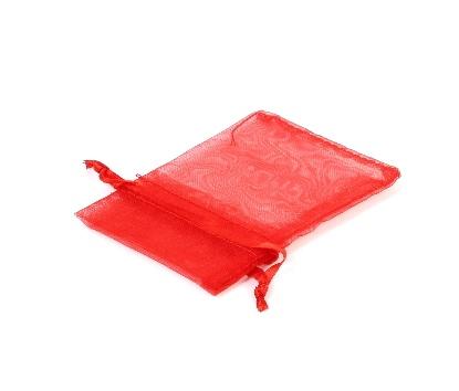 Saculet rosu din organza 3712 [0]