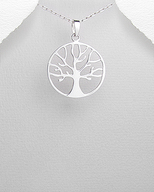 Pandantiv Tree of Life din argint 1P-132 0