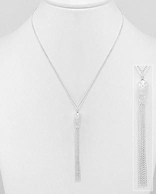 Colier din argint Ciucuri 1CL-214