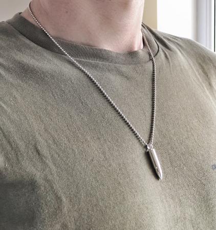 Lant Militar din argint LMI925 [2]