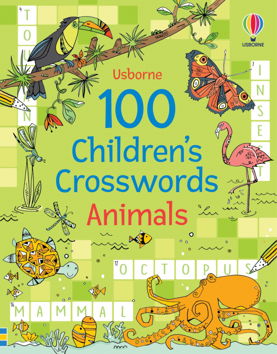 100 Children's Crosswords: Animals [0]
