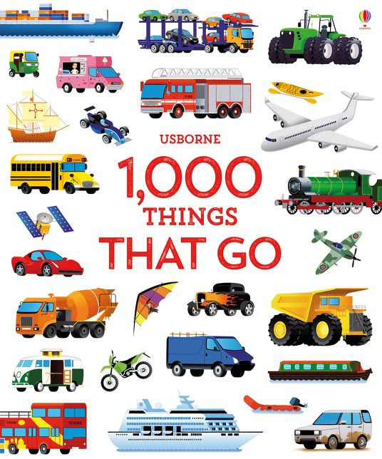 1000 Things That Go [0]