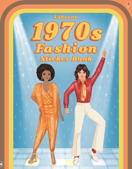 1970s Fashion Sticker Book [0]