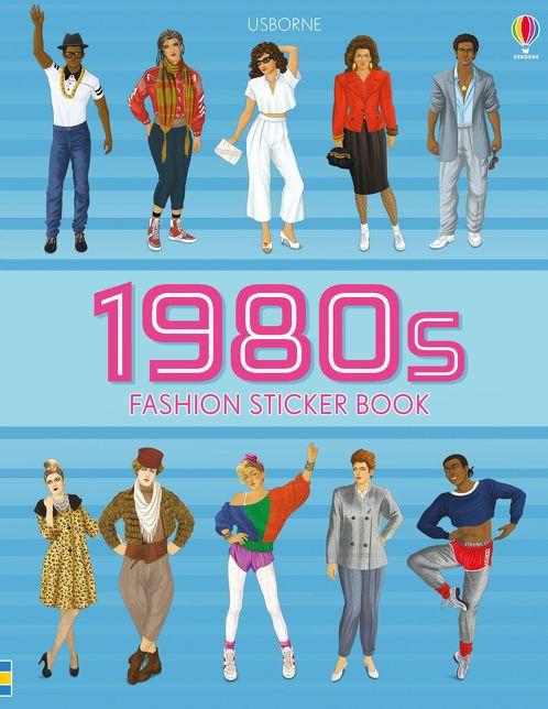 1980s Fashion Sticker Book [0]