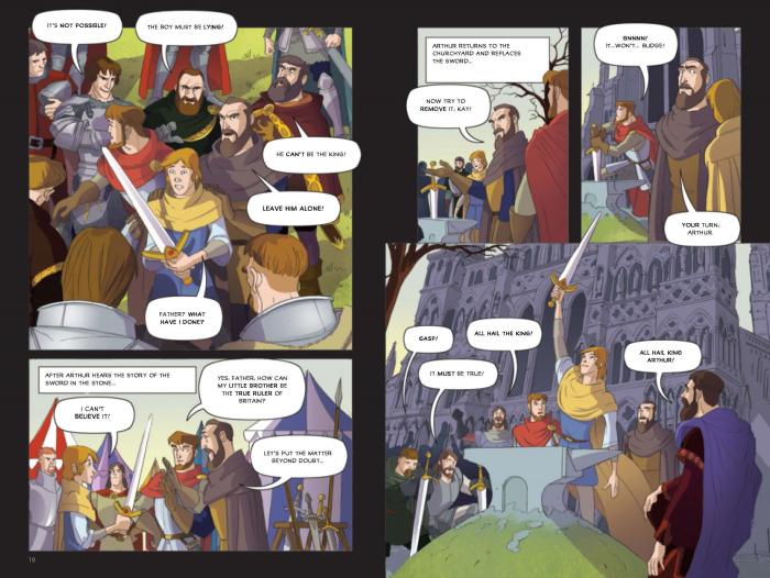 Adventures of King Arthur [3]