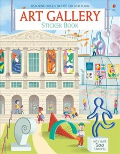 Art Gallery Sticker Book [0]