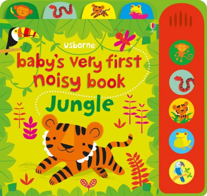 Baby's very first noisy book: Jungle [0]