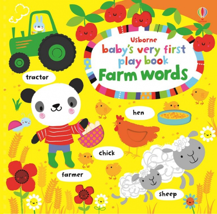 Baby's very first play book animal words [0]