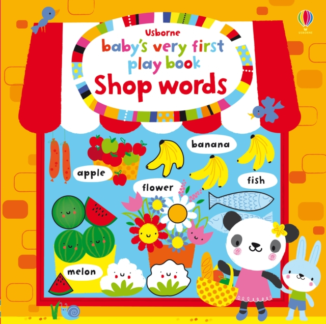Baby's very first play book shop words [0]