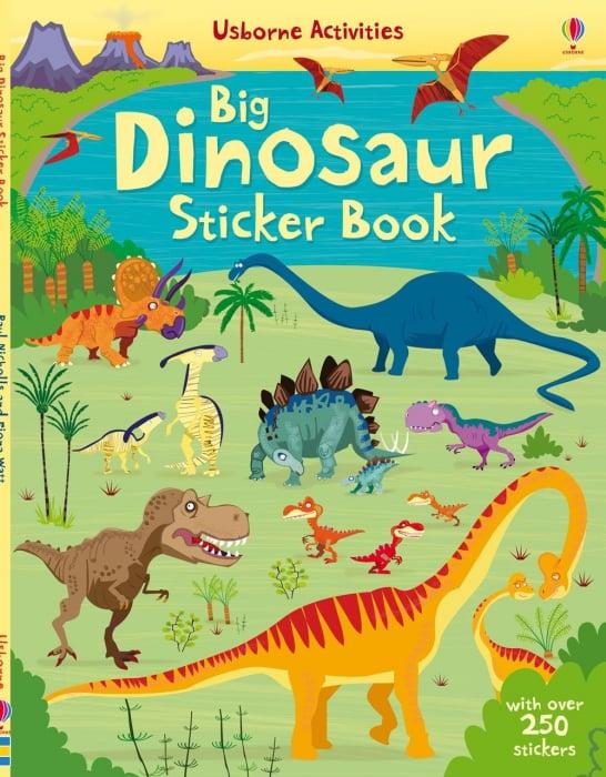 Big Dinosaur Sticker book [0]