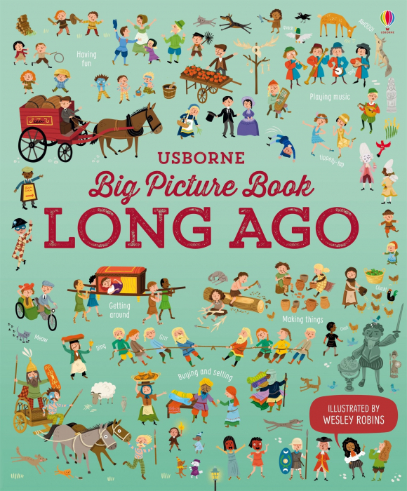 Big Picture Book Long Ago [0]