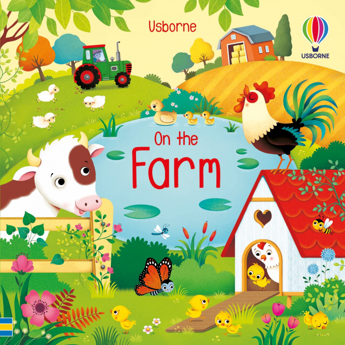 Book and 3 Jigsaws: On the Farm [1]