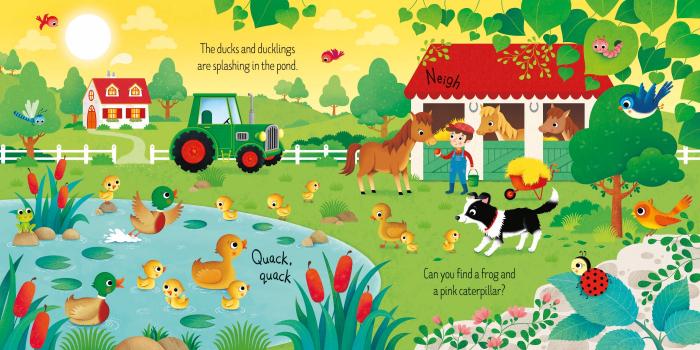 Book and 3 Jigsaws: On the Farm [2]