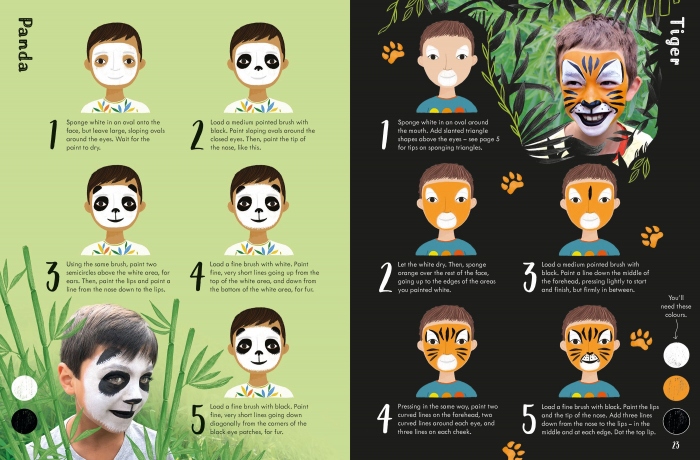 Book of Face Painting [3]