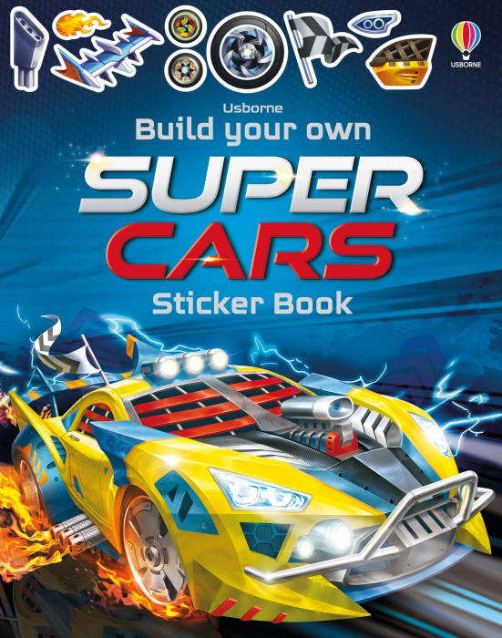 Build Your Own Supercars Sticker Book [0]