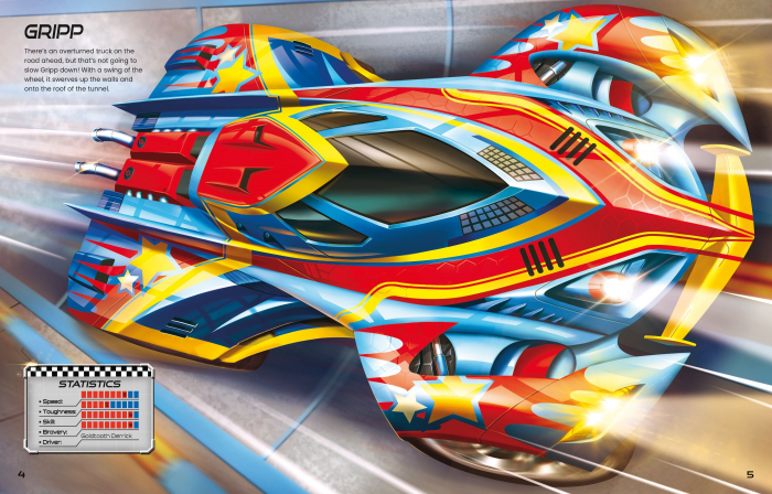 Build Your Own Supercars Sticker Book [3]