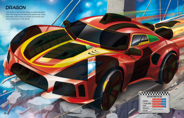 Build Your Own Supercars Sticker Book [7]