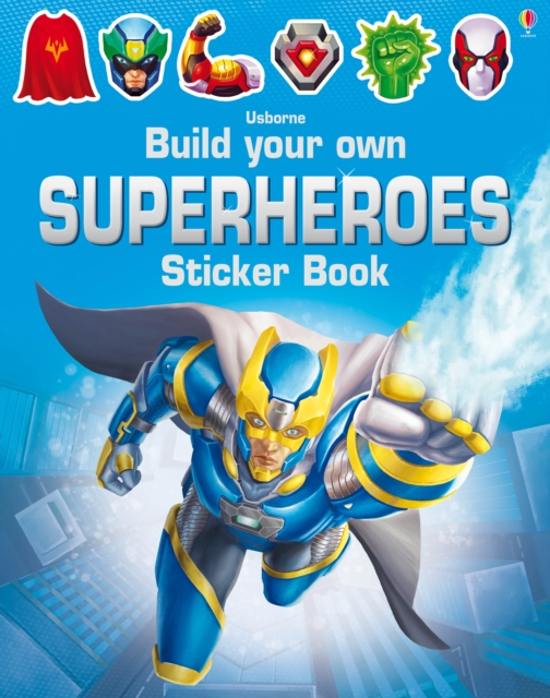 Build Your Own Superheroes Sticker Book [0]
