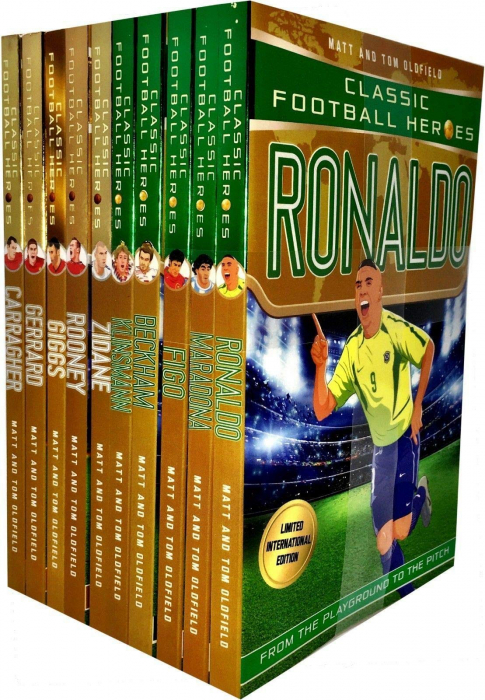 Classic Football Heroes Legend Series Collection 10 Books Set [0]
