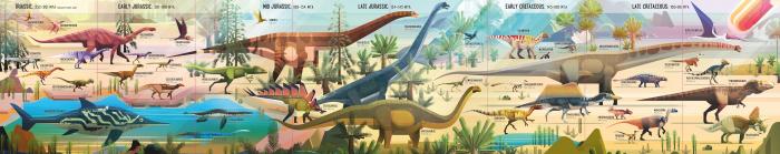 Dinosaur Timeline Book and Jigsaw [1]