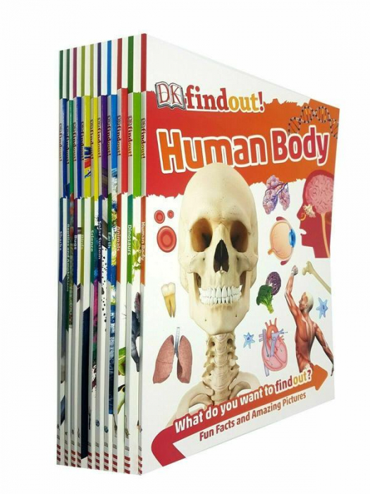 DK Findout! Series with Fun Facts and Amazing Pictures 10 Books Collection Set [0]
