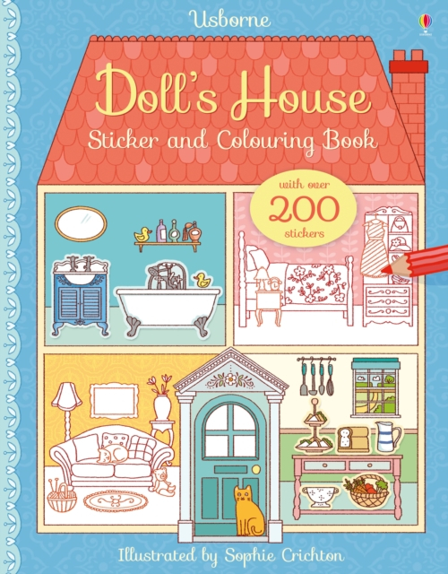 Doll's House Sticker and Colouring Book [0]