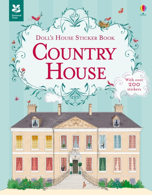 Doll's House Sticker Book Country House [0]