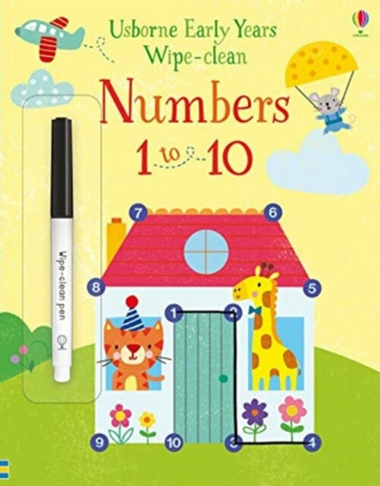 Early Years Wipe-clean Numbers 1 to 10 [0]