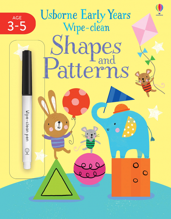 Early Years Wipe-clean Shapes & Patterns [0]