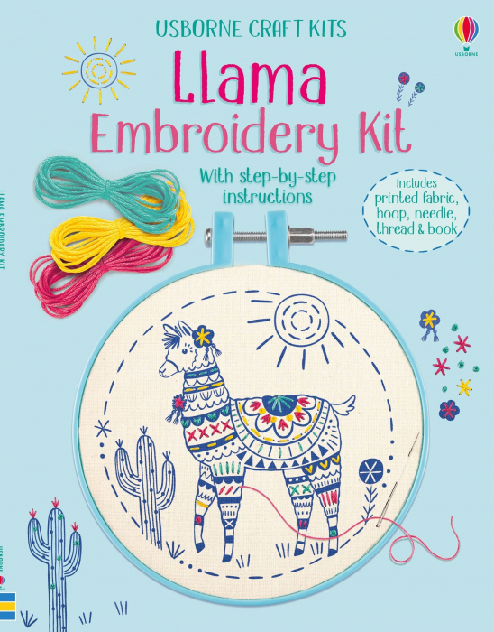 Embroidery Kit: Llama [0]