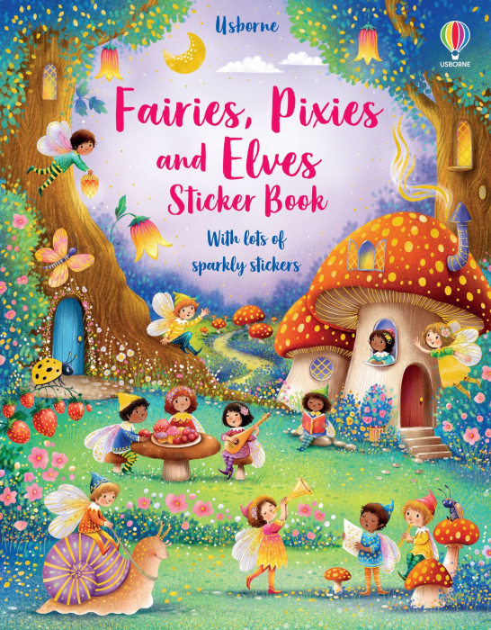 Fairies, Pixies and Elves Sticker Book [0]