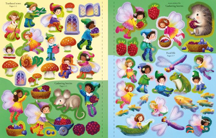 Fairies, Pixies and Elves Sticker Book [5]