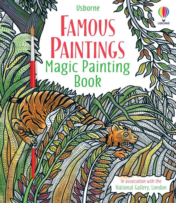 Famous Paintings Magic Painting Book [0]