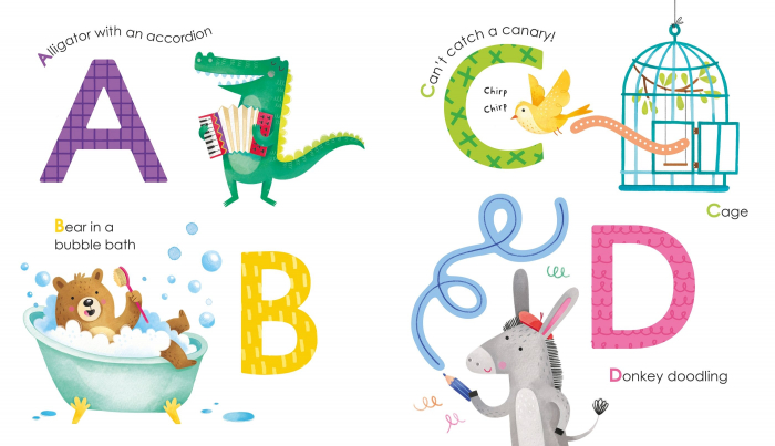 Fingertrail ABC big letters [1]