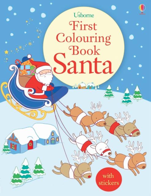 First Colouring Book: Santa [0]