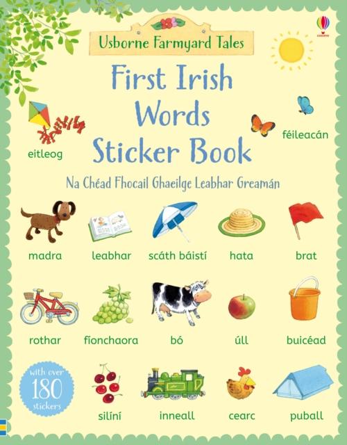 First Irish Words Sticker Book [0]