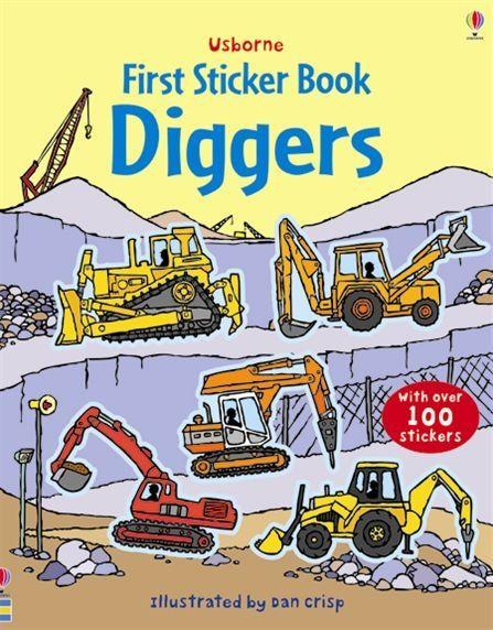 First Sticker Book Diggers [0]