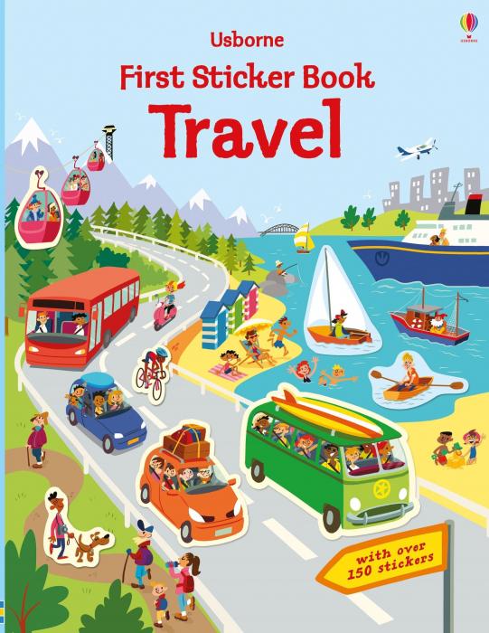 First Sticker Book Travel [0]