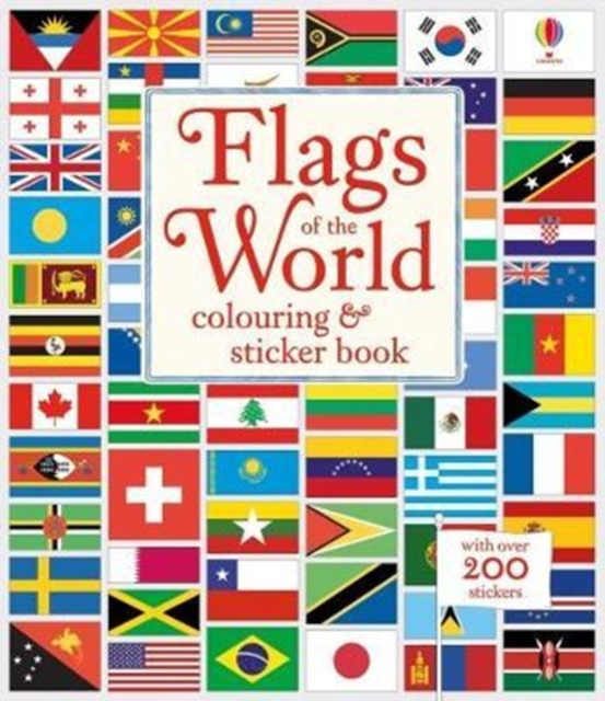Flags of the World Colouring & Sticker Book [0]