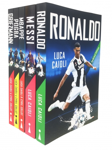 Football Icons around the world 5 Books Collection Set [0]