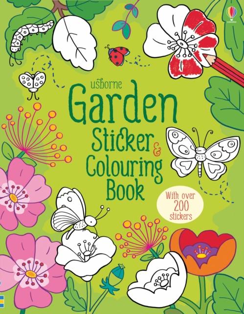 Garden Sticker and Colouring Book [0]