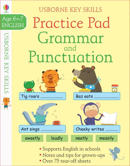 Grammar & Punctuation Practice Pad 6-7 [0]
