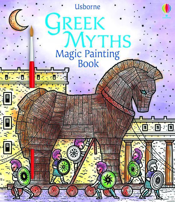 Greek Myths Magic Painting Book [0]