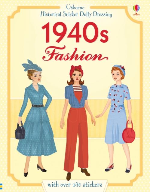 Historical Sticker Dolly Dressing 1940s Fashion [0]