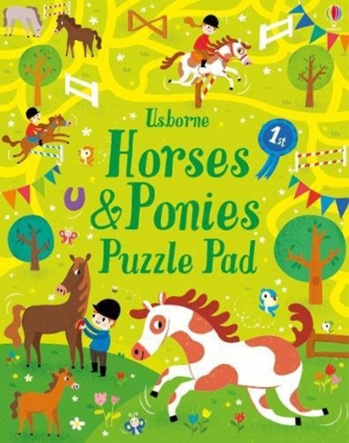 Horses and Ponies Puzzles Pad [0]
