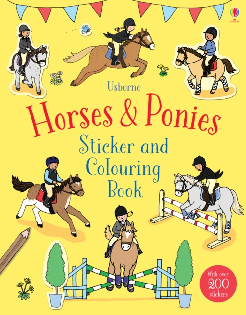 Horses & Ponies Sticker and Colouring Book [0]