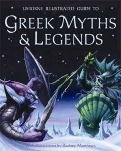 Illustrated Guide to Greek Myths and Legends [0]
