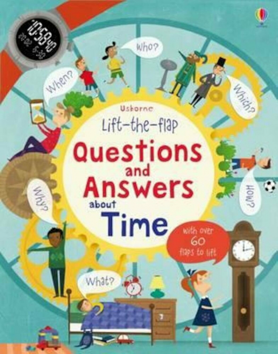 Lift-the-flap Questions and Answers about Time [0]