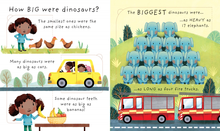 Lift-the-flap Very First Questions and Answers Are Dinosaurs Real? [3]