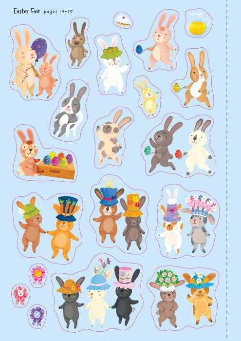 Little First Stickers Bunnies [4]